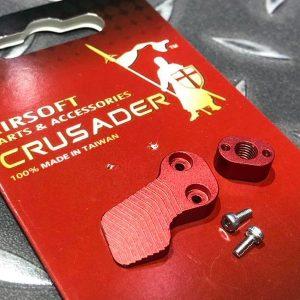 十字軍CRUSADER – 競技用加大彈匣釋放鈕 VFC M4 GBB用 CR-VF21-0013_RD