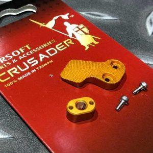 十字軍CRUSADER – 競技用加大彈匣釋放鈕 VFC M4 AEG用 CR-GM11-0009_GD
