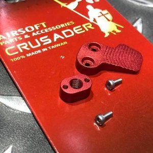 十字軍CRUSADER – 競技用加大彈匣釋放鈕 VFC M4 AEG用 CR-GM11-0009_RD