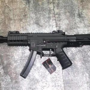 King Arms PDW 電動衝鋒槍 9mm SBR shorty 黑色 灰色 沙色