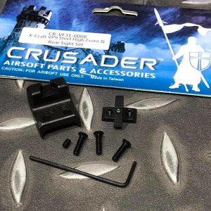 十字軍 CRUSADER VFC UMAREX HK VP9 鋼製增高準星照門 CR-VF31-0008