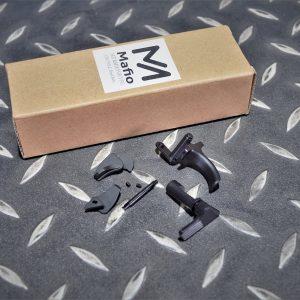 MAFIOSO VFC P320 M17 M18 鋼扳機 保險 滑套卡榫 黑色 MAFIO-M17-01