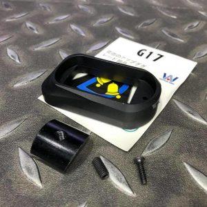 Bell TTI GLOCK 手槍專用握把襯裙 G17 G18 G34 黑色 BELL-17463BK