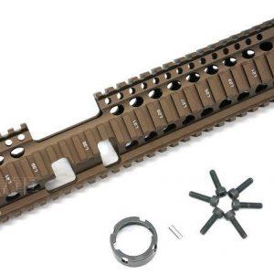 MADBULL Daniel Defense AR15 Lite FSP 12吋 DD 魚骨護木 鈦色