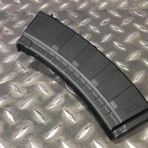 警星 GUARDER 155 發靜音彈匣 無聲彈匣 黑色 (AK AEG 使用) BBAM-201BK