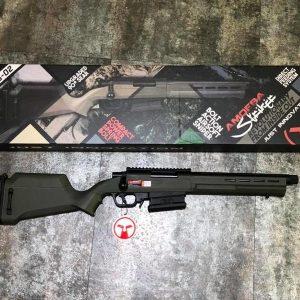 ARES AMOEBA AS02-OD 短版衝鋒狙擊槍 手拉空氣槍 綠色 AS02-OD
