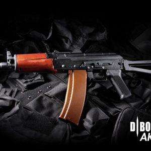 DIBOYS AKS74U 鋼製實木電動槍 DBOY BOYI AK74U BY-001B