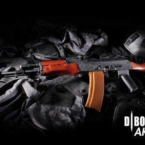 DIBOYS AK-74N 鋼製實木電動槍 DBOY BOYI AK74N BY-006B