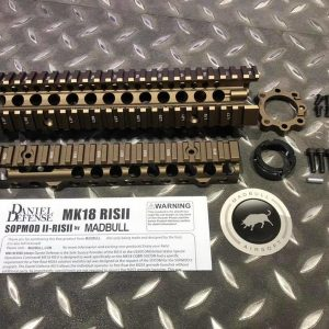 MADBULL 瘋牛 Daniel Defense MK18 RIS II 9.5吋 DD 魚骨護木 鈦沙色
