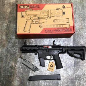 ARES M45X-S AEG 短版 電動衝鋒槍 AR-084E 黑色