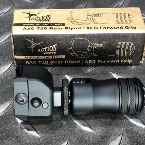 ACTION ARMY AAC T10 戰術槍托腳架 折疊握把 AAC-T10-05