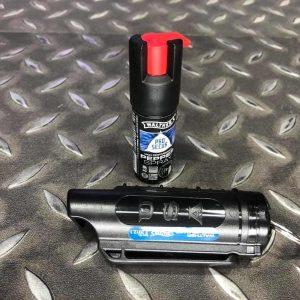 德國 Walther 10% OC 隨身型辣椒水噴霧器附鑰匙圈外殼 防狼逃生 霧狀 2.2012
