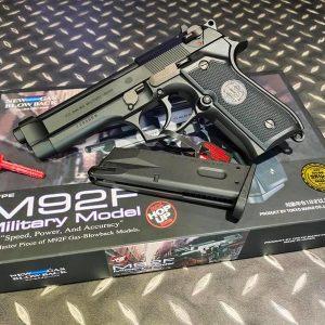 TOKYO MARUI  馬牌 M92F MILITARY MODEL GBB 瓦斯槍