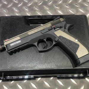 KJ CZ75 SP-01 SHADOW GBB 授權限量版 CNC 鋁滑套 全金屬 瓦斯手槍