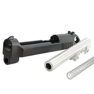 RA-TECH KSC/KWA M9 CNC 鋼製滑套& CNC不鏽鋼製外管 組(無刻字)