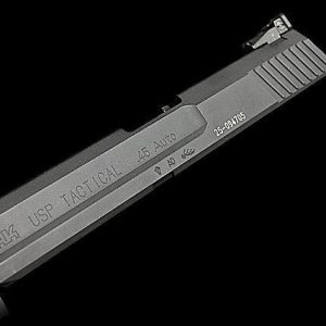 RA-TECH KSC/KWA USP Tactical CNC 鋼製滑套 (不含瞄具) BK