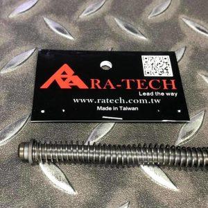 RA-TECH WE G18C / G17 / G34 鋼製 強力覆進簧導桿組 RA-04