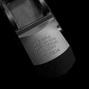 RA-TECH WE M14 CNC 鋼製刻字機匣(Part NO.1)+RA鋼製刻字滑蓋(Part NO.101)