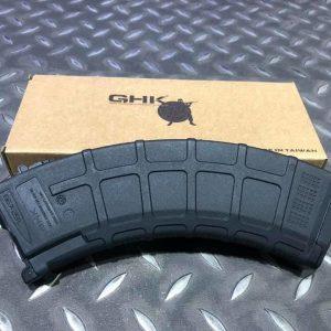 GHK AK GMAG 輕量化 瓦斯彈匣 黑色 GHKA-AK-GMAG
