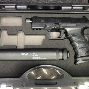 VFC UMAREX WALTHER PPQ M2 NAVY 滅音管豪華版瓦斯手槍附槍盒 VFC-PPQS