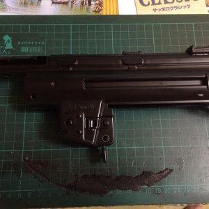 WE MP5-K 鋼製沖壓槍身組 原廠零件