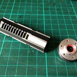 WE AEG 電動 原廠 KATANA 專用 拍頭 齒棒 天梯 零件