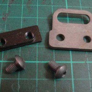 WE EBR 零件 #3#42#43 鋼製前槍背帶環組