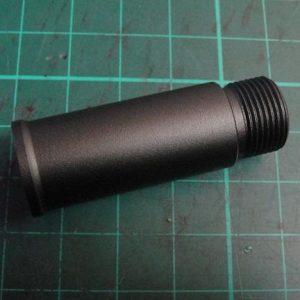 WE SCAR 鋁合金 CNC 延長外管 (3.5 公分) 零件