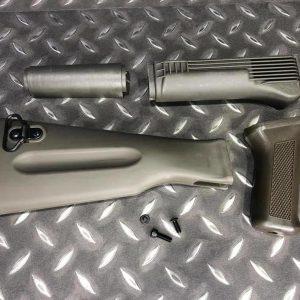 LCT 原廠 AK74M 綠色 護木 槍托組 PK-53