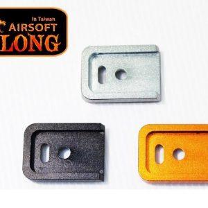SLONG 神龍 Glock G17 克拉克 彈匣底板 金屬攻擊底板 橘色 SL-00-56B 13527