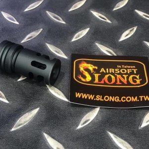 SLONG 神龍 防火帽 逆14牙 長44mm 黑色 SL00305