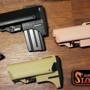 SLONG 神龍 M4 彈匣型 海豹戰鬥托 沙色 SL-00-53B 12999