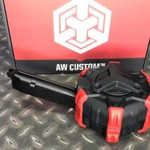 AW CUSTOM WE GLOCK 系列 G17 G18 克拉克 瓦斯 300發 彈鼓 AW-DRMG01