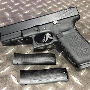 WE GLOCK G17 GEN5 G17V GBB 金屬滑套 瓦斯手槍 黑色 WE-G17-BK5