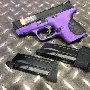 WE M&P GBB 小嘴鳥 雙彈匣版 紫