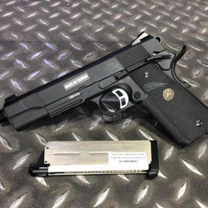 KJ KP-07 MEU GBB 戰術版 逆14牙 全金屬瓦斯槍 黑色 KJGSKP07TB