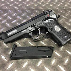 KJ M9A1 GBB 逆14牙 魚骨 戰術版 全金屬瓦斯槍 黑色 KJGSM9A1TB