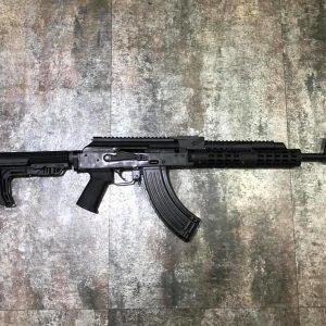 GHK AK AKM GBB TWI VS-25 客製化 瓦斯步槍 LCT 魚骨機匣蓋 轉M4托