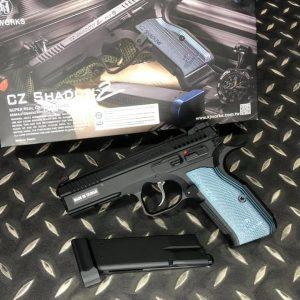 KJ CZ SHADOW2 GBB 授權刻字版 CNC 滑套 全金屬 瓦斯槍