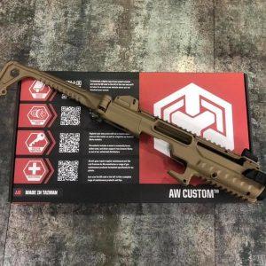 AW CUSTOM TCC GLOCK 沙色衝鋒槍套件 WE 系統 G17/G18/G19/G34 K03002