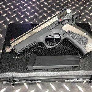 KJ SP-01 CZ75 SHADOW GBB 雙色 授權刻字版 CNC 滑套 全金屬材質 瓦斯槍