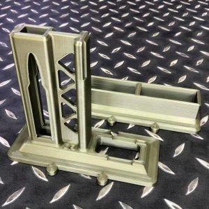 3D列印 AR15 槍架彈匣架組 亦可拆售 OD綠