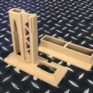 3D列印 AR15 槍架彈匣架組 亦可拆售 沙色