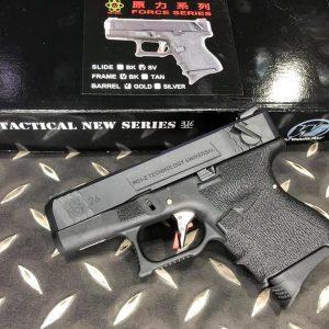 WE WET G26 GBB 烙印戰鬥版 瓦斯 手槍 原力 WE-G26-BGB