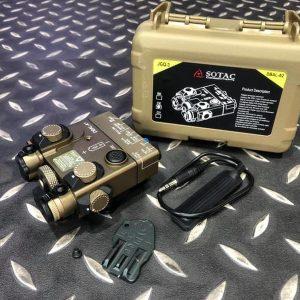 DBAL-A2 Style 雷射指示器 LED照明+綠雷射+IR雷射 沙色 DBAL-A2-DE2