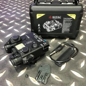 DBAL-A2 Style 雷射指示器 LED照明+綠雷射+IR雷射 黑色 DBAL-A2-BK2