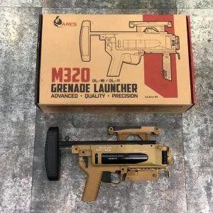 ARES M320 M203 榴彈發射器-全金屬-沙色