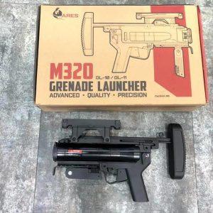 ARES M320 M203 榴彈發射器 全金屬 黑色