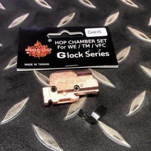 """楓葉精密 Maple Leaf 2019 新版 WE Glock G17 G18C G19 """"GEN5"""" 瓦斯手槍 玫瑰金 HOP座 M-GLOCK-HOPSET"""