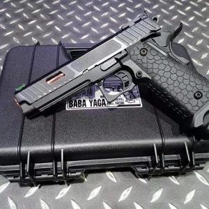 SRC JW3 TTI Style 2011 HI-CAPA 全金屬 瓦斯手槍 附槍盒 KLI